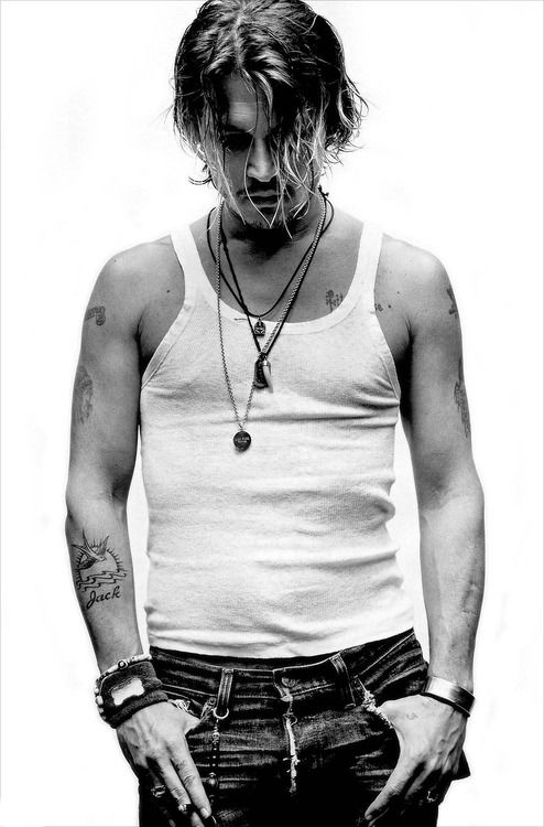 Johnny Depp | by Robert Maxwell, very handsome man. (FOR HIS AGE!!! <3)