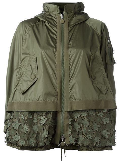 MONCLER 'Bugamville' Embroidered Jacket. #moncler #cloth #jacket