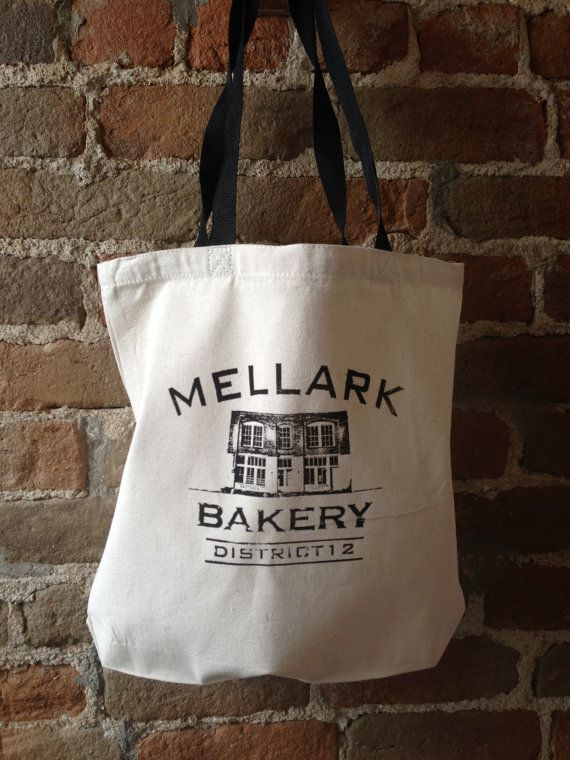 Mellark Bakery Cotton Canvas Tote Bag by StudioVim on Etsy, $10.00