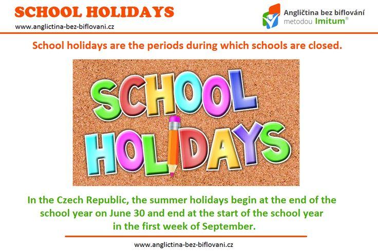 Dnes je poslední školní den, kdy žáci základních a středních škol obdrží vysvědčení a zároveň jim začínají letní prázdniny. 📄☀ Tým Angličtina bez biflování všem školákům tímto přeje krásné a pohodové prázdniny a připomíná, že angličtinu se můžete učit i v tomto období. 👍💪 #skola #prazdniny #leto