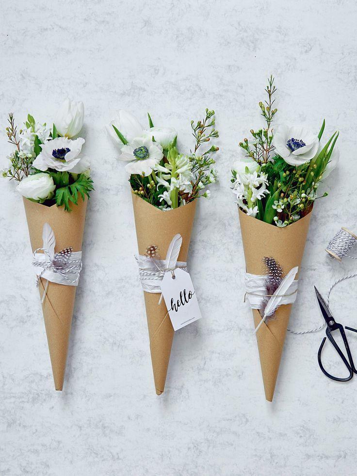 Blumen dekorieren