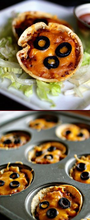 Not only do these mini Mexican pizza look great, they taste amazing. They're also much healthier than Taco Bell's version.