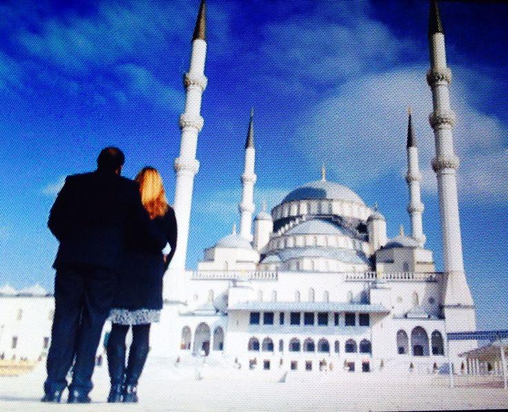 This morning in Ankara, Kocatepe mosque