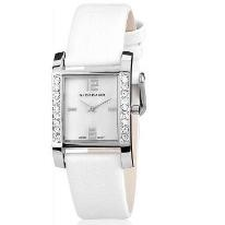 Giordano Ladies Silver White Analog Watch with 57% Discount.