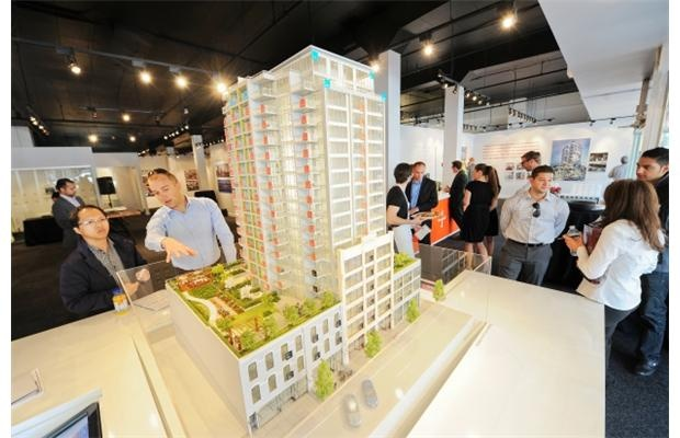 Trapp + Holbrook residences go on sale Saturday, May 26. Photograph by: GLENN BAGLO, PNG