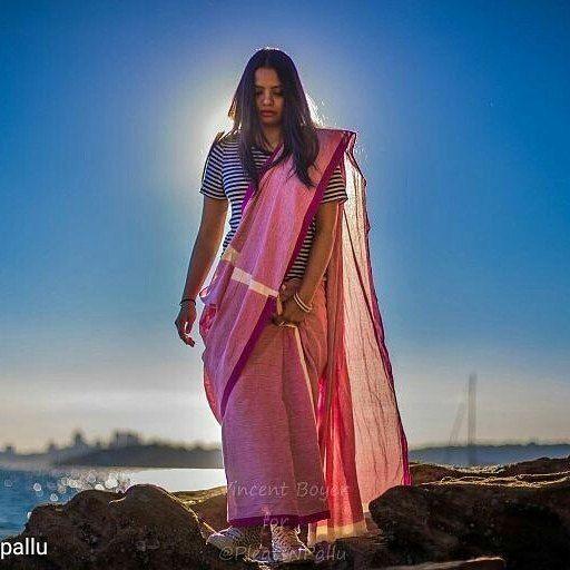from @pleatsnpallu -  New blog post alert: Forever playing on rock pools in handwoven fabrics and patterned converse.. (Blog link in bio) * * * * #sareenotsorry  #sarinotsorry  #khadi #sareelove #pleatsnpallu #reclaimthesaree #sareeonmovement #handloom #indiainspired #iwearhandmade #ethicalfashion #sustainablestyle  #liveauthentic  #bohemian  #blogger #ethnictextiles #globetrotter  #wanderfolk #multicultural  #organiccotton #naturalfabrics #ootd #sydney #saree #bengali