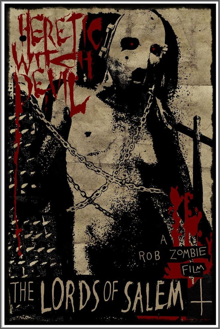 the lords of salem, movie poster, rob zombie