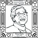 ... Download Rosa Parks Coloring Sheet Rosa Parks Coloring Sheet Coloring Pages For Kids And For Adults ...