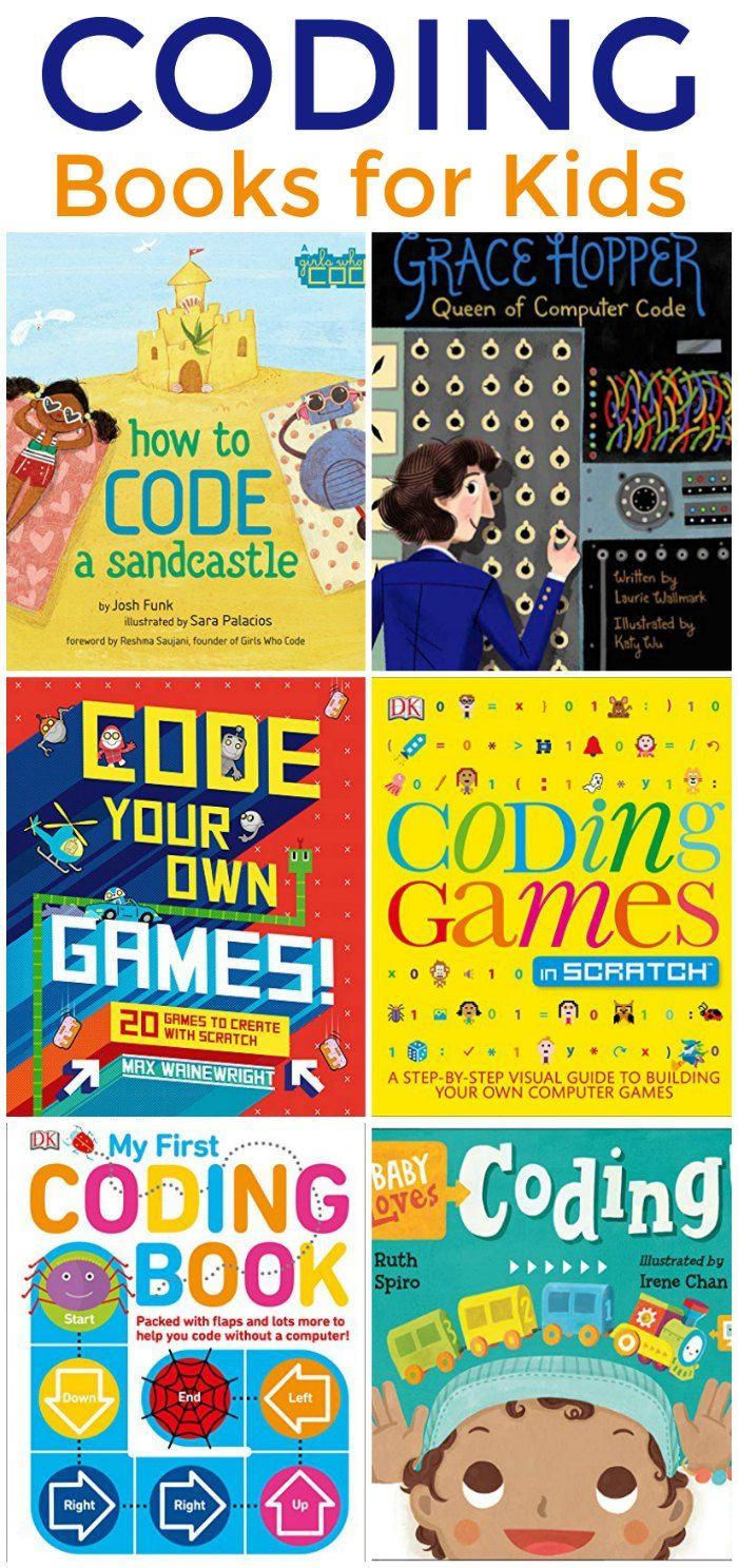 Introductory Computer Coding Books for Kids (STEM Unit Study