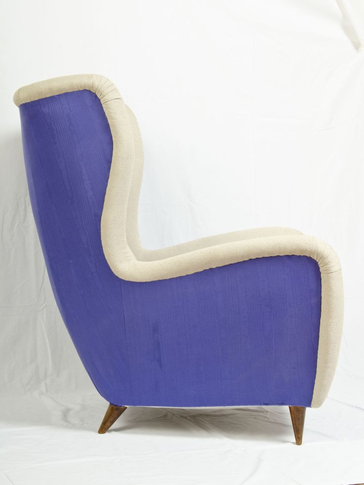 violet armchair -PRINCE CHARMANT ®