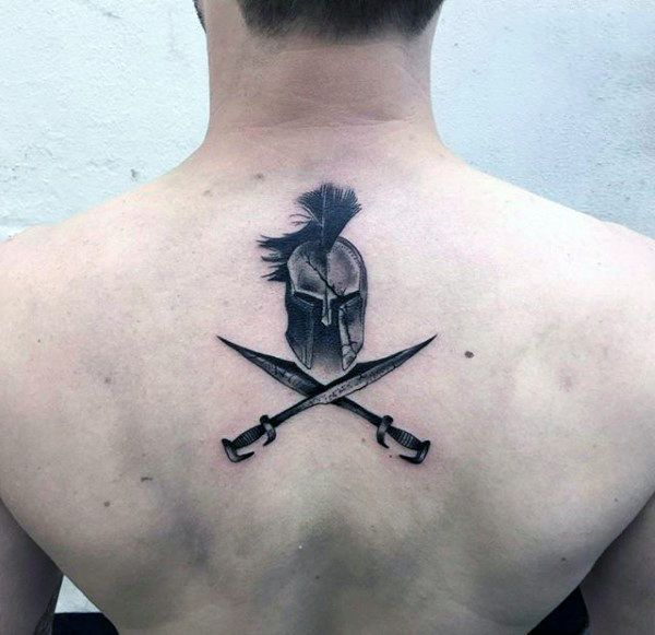 70 Creative Tattoos For Men Unique Design Ideas Spartan Tattoo Sword Tattoo Small Back Tattoos