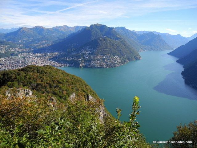 #Lac de #Lugano Canton du #Tessin en #Suisse