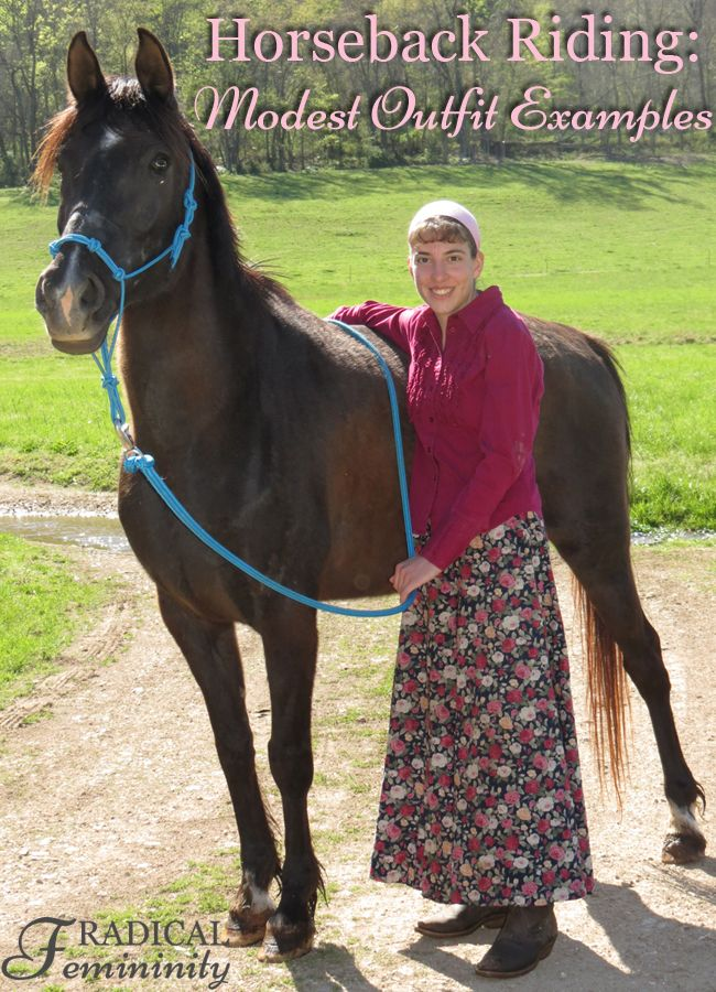 Horseback Riding: Modest Outfit Examples And Suggestions
