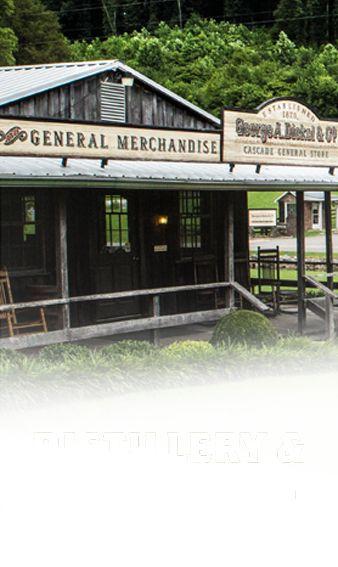George Dickel whiskey distillery tour