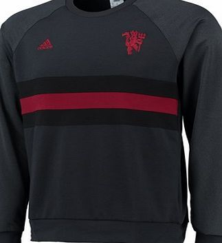 Adidas Manchester United SF Crew Sweatshirt Dk Grey Manchester United SF Crew Sweatshirt - Dk Grey As the Red Devils put pressure on their opponents, you can cheer them on with this mens Manchester United SF Crew Sweatshirt. Showing off Manchester Unit http://www.comparestoreprices.co.uk/sportswear/adidas-manchester-united-sf-crew-sweatshirt-dk-grey.asp