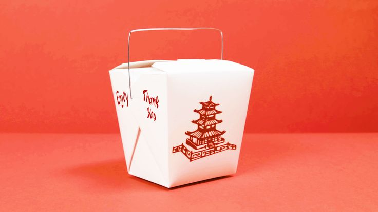 When you order Chinese delivery, do you ever stop to look at the takeout box? That white container adorned with red pagodas is one of the most iconic boxes around. But did you know that it's actually an American design? In fact, you probably won't even find these boxes in China.