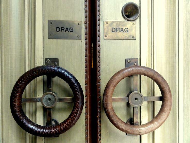 Travel & Lifestyle Diaries: Door handles of Hedvig Eleonora Church in Stockholm
