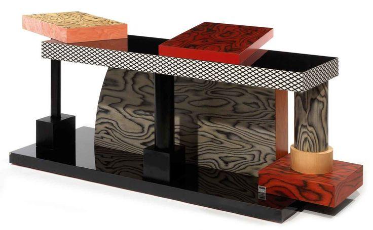 Ettore Sottsass (designer), sideboard,1985.