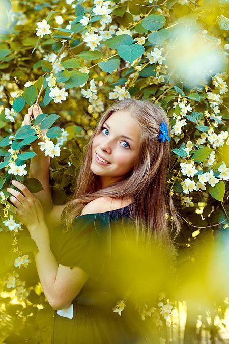 Олечка, июнь 2011, Нескучный сад. | SummER photo shoot ...