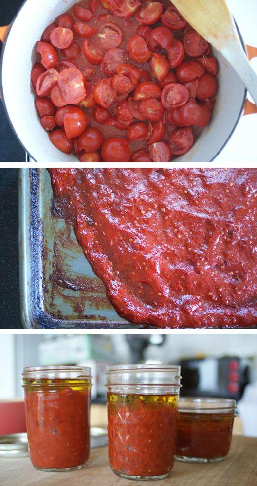 postup protlak_Recept na domácí kečup a rajský protlak
