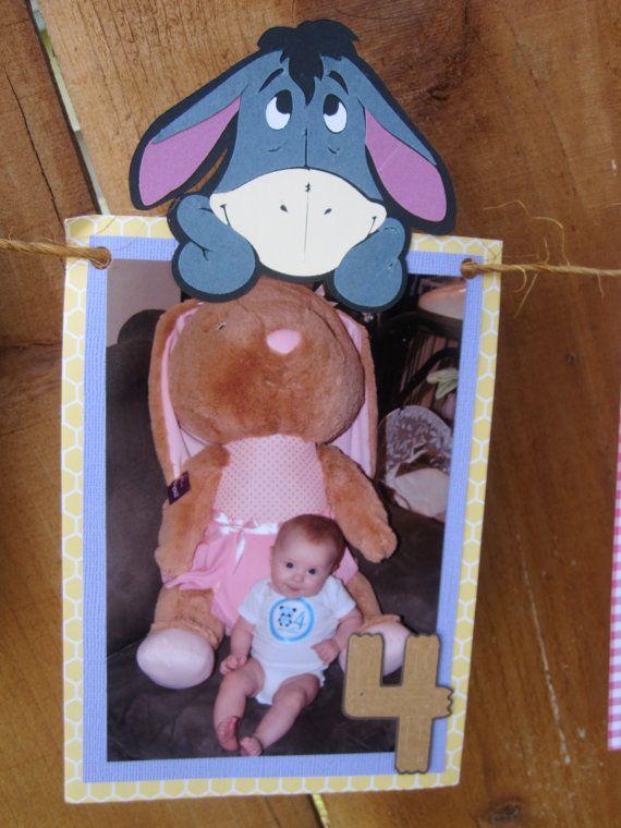 Rosa e viola Winnie i Pooh 12 mesi foto di TheCraftyGodMother