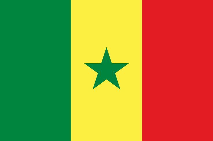 Drapreau : Sénégal : 1960