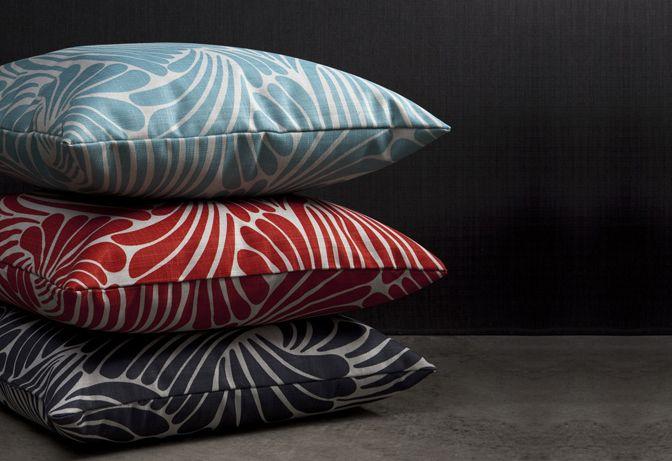 Florence Broadhurst selected prints on fabric by Materialised #materialisedfabrics #fabricsfortherealworld #performancefabrics #restaurantdesign #florencebroadhurst