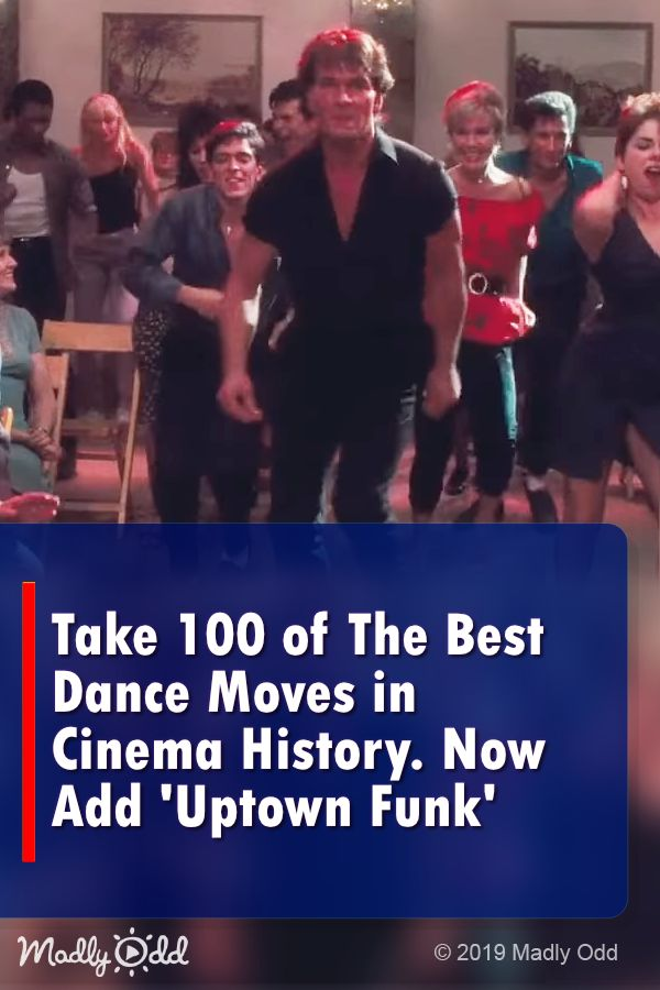 Take 100 of The Best Dance Moves in Cinema History – Now Add 'Uptown Funk' #movies #movie #entertainment #dance #dancing