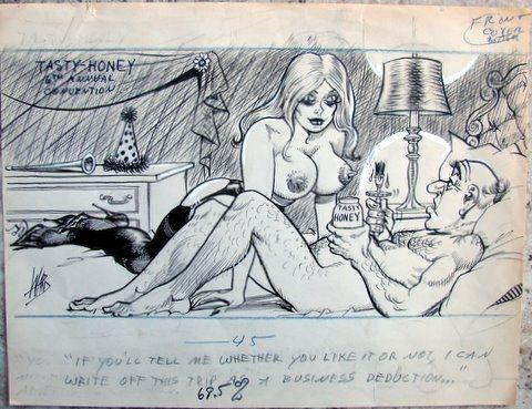 Bill Ward Sex and porn comics in