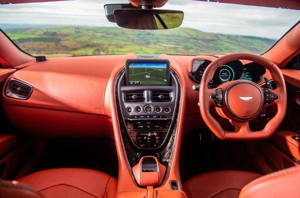2020 Aston Martin Dbs Superleggera Interior Aston Martin Dbs Aston Martin Superleggera