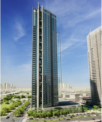 51 Storey Residential Building- Makati City Philippines. Garden Tower designed by Aidea Philippines Incorporated