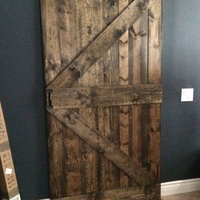 Rustic Sliding Barn Door Custom Made To Fit Your Style In 2020