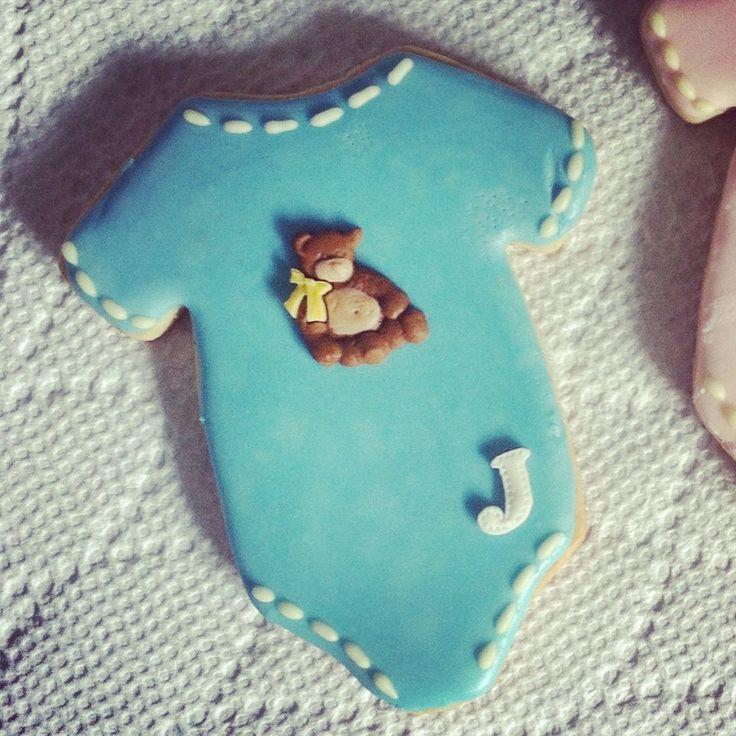 Onesie Baby Shower Cookie