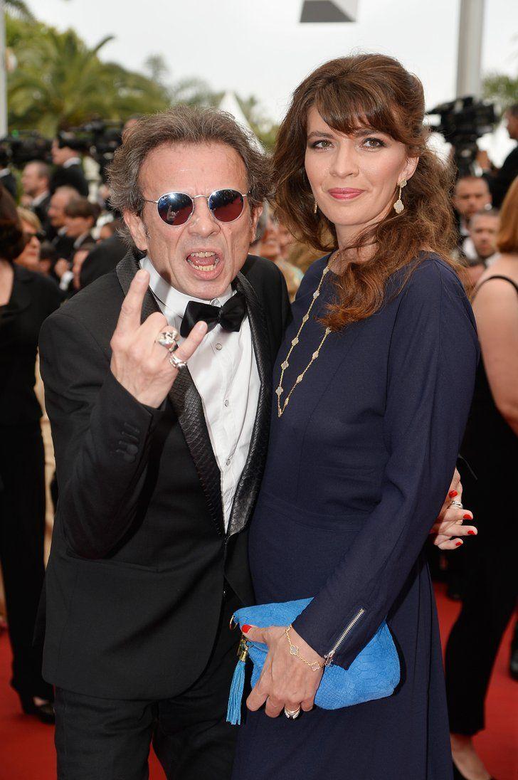 Pin for Later: Personnalités Françaises et Stars Hollywoodiennes Ont Envahi Cannes Jour 2 Philippe et Candice Manoeuvre