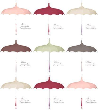 Vintage and Custom Wedding Parasols from Bella Umbrella | Junebug Weddings