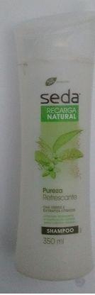 Maquiagem de óculos: Shampoo Recarga Natural Pureza Refrescante, Seda