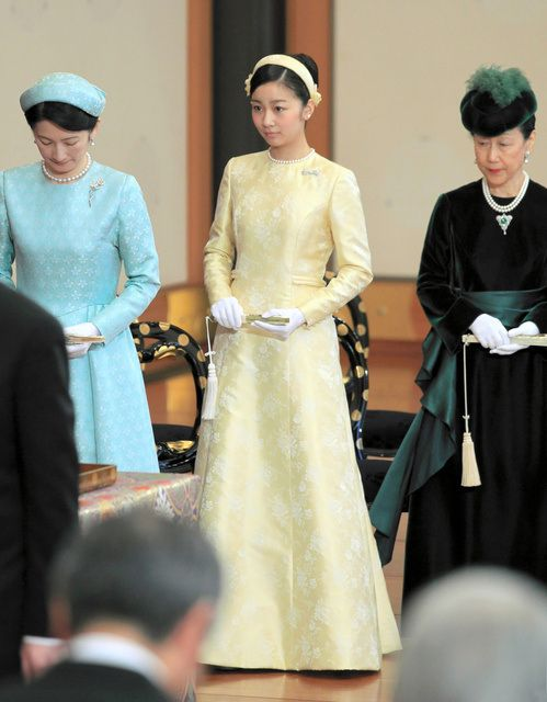 On 14th January, 2015, Ceremony of Utakai-Hajime (New Year's Poetry Reading) took place at Imperial Palace. Japanese royal family members Crown Prince Naruhito, Prince Akishino, Princess Kako of Akishino, Princess Hanako of Hitachi, Princess Nobuko of Mikasa attended the 'Utakai-Hajime-no-Gi,' New Year's Poetry Reading ceremony at the Imperial Palace.