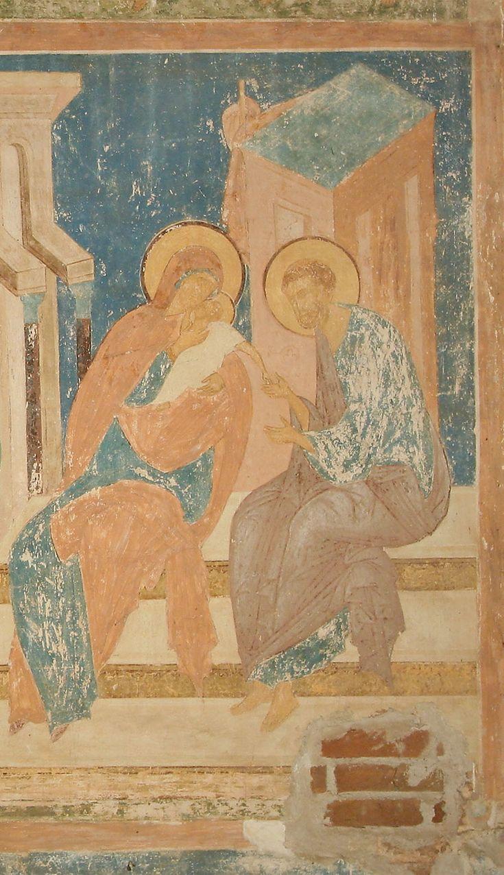 В целом фрески портала готовят к восприятию откровения, которое предстоит…