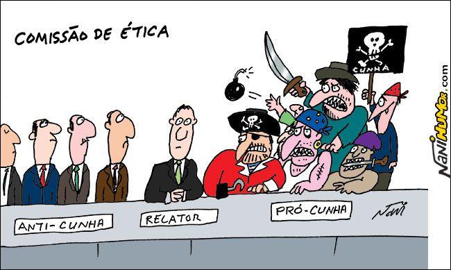 Nani Humor: COMISSÃO DE ÉTICA