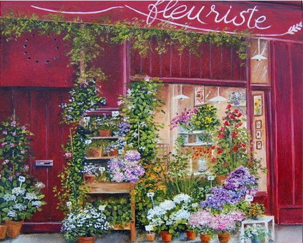 Французская художница Мари-Клер Умо (Marie-Claire Houmeau). Обсуждение на LiveInternet - Российский Сервис Онлайн-Дневников