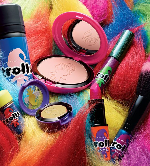 MAC Announces a Questionable Treasure Troll-Inspired Makeup Line