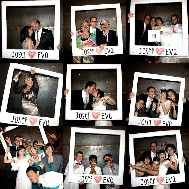 Photocall boda polaroid