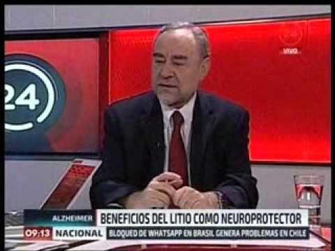 Video entrevista noticias 24 Horas, Dr  Nibaldo Inestrosa 17 diciembre - YouTube