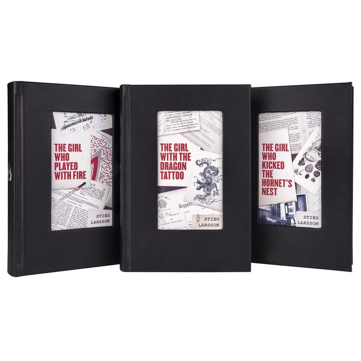 Leather-Bound Stieg Larsson Millennium Trilogy Set