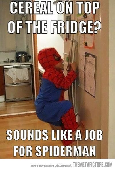 I see this in our future....Laugh, Sons, Spiderman, Spiders Man, Funny, Children, Future Kids, Savory Recipe, Little Boys