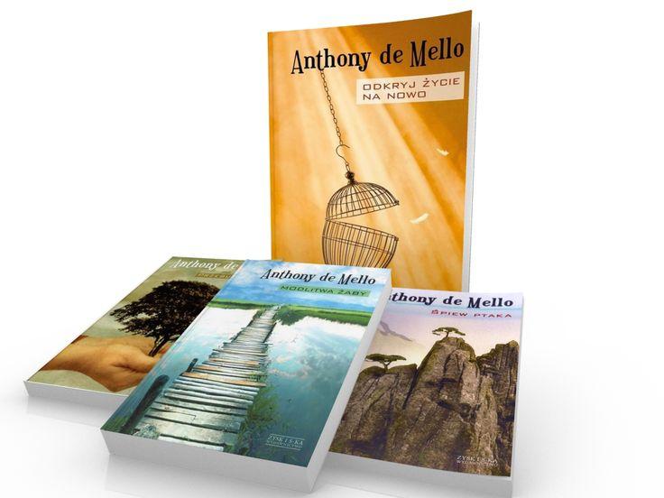 #ksiazka Odkryć życie na nowo Anthony de Mello #bestseller #wiedzaduchowa
