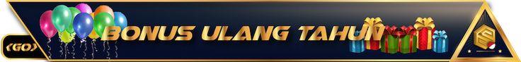 BONUS ULANG TAHUN   * Promosi ini berlaku untuk pemain yang mendaftar di www.scr99indo.com * Permainan poker & togel tidak termasuk dalam persyaratan turnover . * www.scr99indo.com akan memberikan bonus kepada member yang berulang tahun .