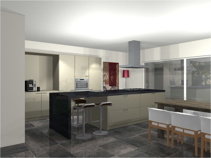 Keukentrend Open keuken Ontwerp van Van Wanrooij Lees