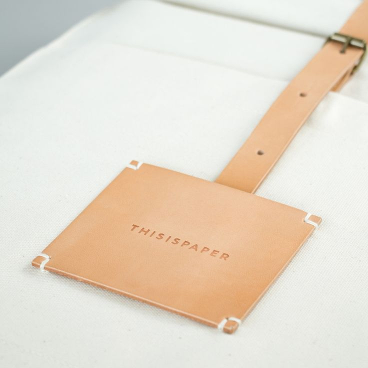 Textile, fabric, white, bag, stitched, detail, washable paper, branding, label