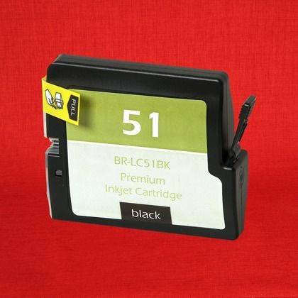 Brother DCP-330C Black Dye Ink Cartridge (Compatible) #inkcartridges